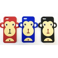 Гумен гръб Monkey iPhone 4 / 4s, черен