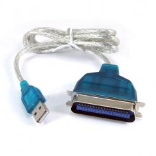 USB To IEEE 1284 Cable 36 Pin Parallel Printer Cable