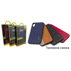 Case G-Case Earl Series Leather Stitch Cover за Samsung Galaxy Note 8 / N950 Син