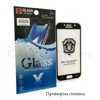 НОВО Full Glue 9H Pro Premium Tempered Glass Huawei Mate 10 Lite за цял екран с бяла рамка