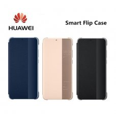 Smart View Window Flip Cover Huawei P30 - Син