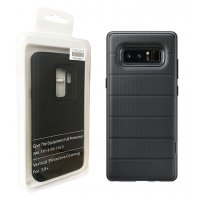 Protective Standing Cover Samsung Galaxy S9 Plus - Черен