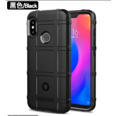 Rugged Shield Shockproof TPU Motorola Moto G7 Plus - Черен (R64/B4)