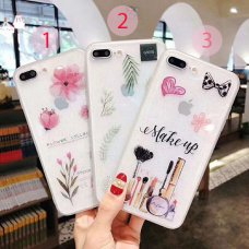 Make Up lady TPU Samsung Galaxy A6 Plus (2018) (3) (R65/B2)