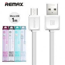 Remax RC-008M Quick Charge, Data / Micro Usb Кабел 1000мм - Черен