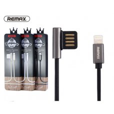 Remax RC-054i Data Cable iPhone 5/6S/7/8/X/XR/XS MAX (Lighning) 2.1A Emperor Series - Черен