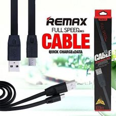 Remax Full speed series cable Quick charge, data, Micro Usb - Черен (R15/G5)