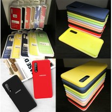 Silicone Case Samsung Galaxy Note10 - Жълт (S72-H1)