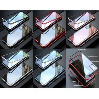 Aluminium Magnetic 360 back cover glass Samsung Galaxy S20 - Сребрист (ST73-G1)