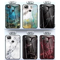 The Marble Glass Case Samsung Galaxy A51 - №3 (S65-A1)