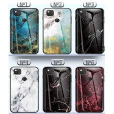 The Marble Glass Case Huawei Y7 (2019) - №3 (S65-A1)