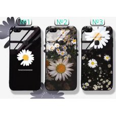 The flowers1 Glass Case Huawei Y7 (2019) - №3 (S2-C4)
