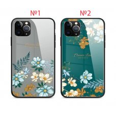 Flowers Sea Glass case iPhone 12 Mini - №1 (S72-D1)