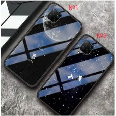 Astronaut Glass case iPhone 12 Mini - №2 (S72-D1)