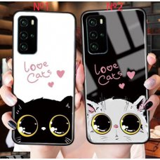 Love Cats Glass case Xiaomi Redmi 9 - №2 (S72-C2)