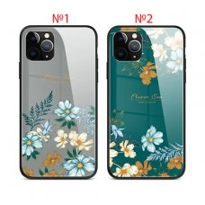 Flowers Sea Glass case iPhone 12 - №1 (S1-F2)