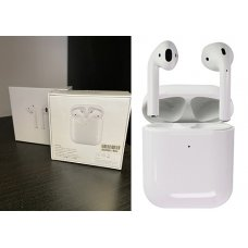 Безжични слушалки AirPods (A2032) Charging Case - Бял (S23-D4)