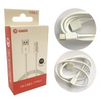 GAGO USB TYPE-C кабел 2A 1M Fast Charging / GM - 0529 (R53-D/E/F4)