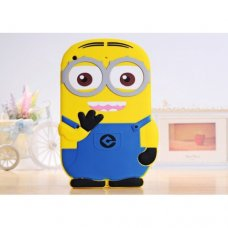 Samsung Galaxy S6 3D Cartoon Minion Soft Silicone Case