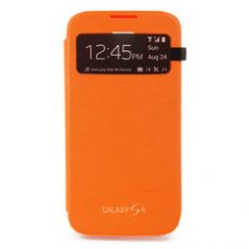 Samsung Galaxy S5 (I9600) S-View Cover Оранжев