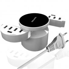YC-CDA16 10 Usb Ports Super Charger 5V 8.2A Quick Charging Smart USB Charger for Phone Tablet